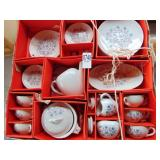 Doll Dishes Tea party set
