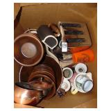 Wooden bowl Set & Toaster