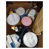 Thermos & plastic pitchers