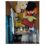 Viewmaster, Ernie puppet & kids toys