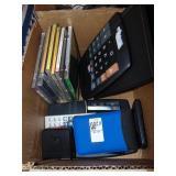 Calculators and CDs