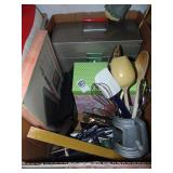 Metal File Box Recipe Box