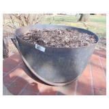 Large Cast Iron Cauldron Pot