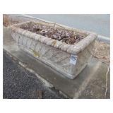 Concrete Flower Box