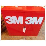 3 M metal cabinet