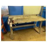 Metal Work table with Matco Vice