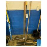 Broom and Squeegee