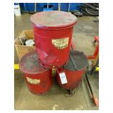 JustRite Oily Waste Can