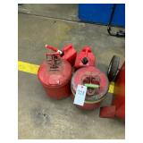 Gas cans qty 4
