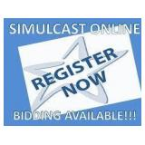 Live Public Auction with Online Simulcast Bidding