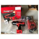 Snap On 18V Cordless Impact Wrench kit - NEW