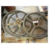 (3) Ford Model-A Wheels