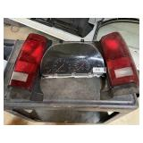 Spedometer and Rear Tail Lights