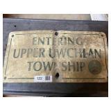 Upper Uwchlan Sign
