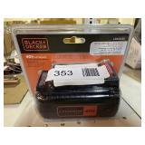 Black Decker Lithium Battery