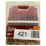 Wood Metal Jig Saw Blades