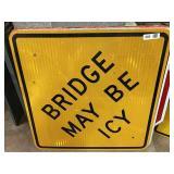 Bridge May Be Icy Sign