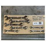 Stanley Metric Open End Wrench Set