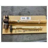 (2) Ball Peen Hammers