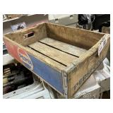 Pepsi Wooden Box Case
