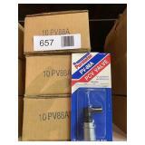 (3) PCV Valve PV88A Purolator