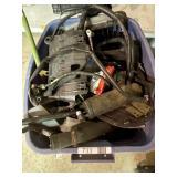 Bin of Auto Parts