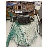 Wicker Fishing Bag Net