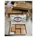 Wooden and Tin Boxes
