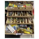 Fishing Tackle Box Loaded