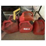 (5) Fuel Cans