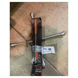 Tire Iron Telescoping Pickup Tool