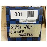 "4 1/2"" Cut Off Wheels"