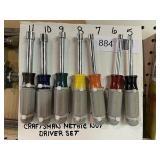 Craftsman Metric Nut Driver Set
