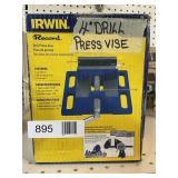"Irwin 4"" Drill Press Vise"