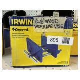 "Irwin 6 1/2"" Woodworking Vise"