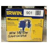 """3 1/2"""" Jaw Clamp On Vise"""