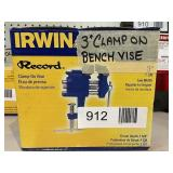 """3"""" Clamp On Bench Vise"""
