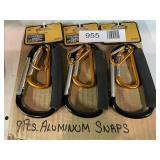(9) Aluminum Snaps