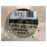 """(10) 4 1/2"""" Metal Grinding Wheels"""
