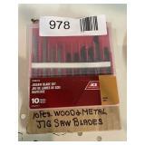 (10) Wood Metal Jig Saw Blades