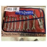 SAE Miniture Wrench Set