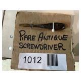 Rare Antique Screwdriver