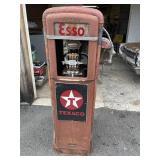 Early ESSO Gas pump