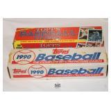 1988 & 90 TOPPS BASEBALL FACTORY SETS