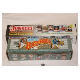 1990 & 91 DONRUSS BASEBALL CARDS