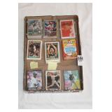 BOX OF MIXED BASKETBALL & BASEBALL CARDS