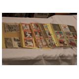 10-SHEETS MIXED BASEBALL CARDS & MEMORABILIA