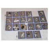 3-SHEETS BASEBALL CARDS