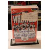 EMMIT SMITH AUTOGRAPHED WHEATIES BOX