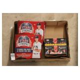 3-BOXES BASEBALL CARDS